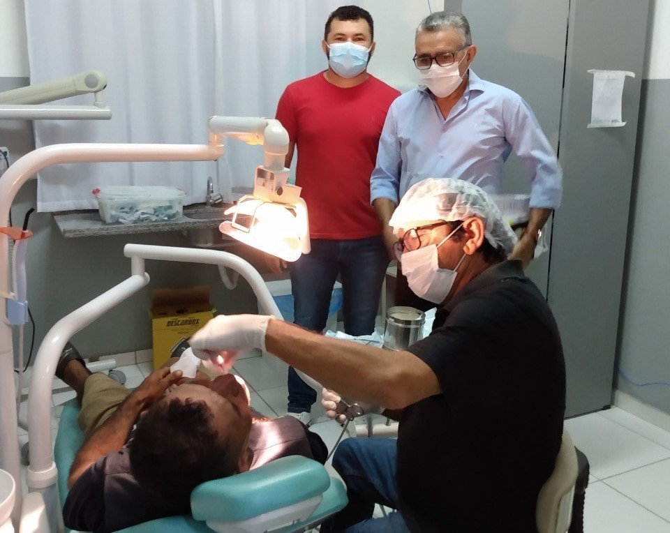 Prefeitura de Poço Dantas retoma atendimentos odontológicos para a população