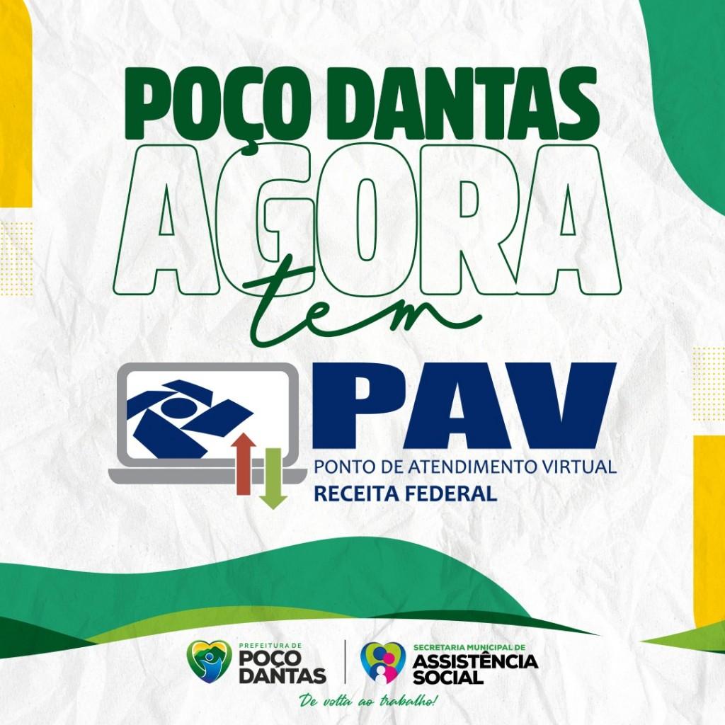 Prefeitura de Poço Dantas celebra a conquista e instalação do Ponto de Atendimento Virtual da Receita Federal