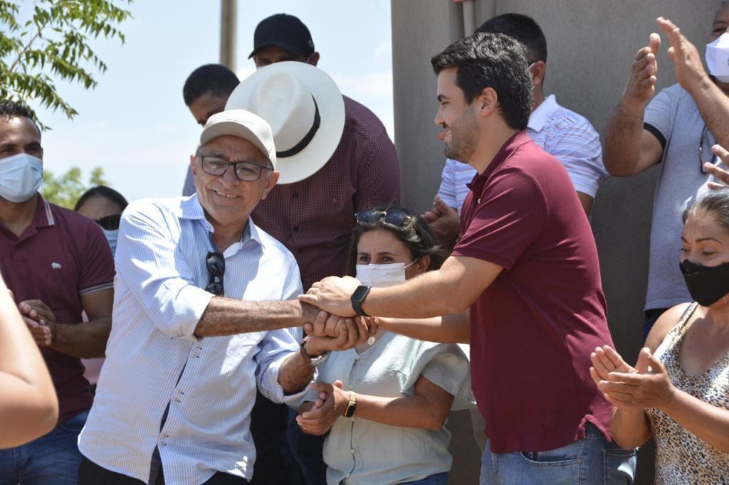 Prefeito Itamar Moreira recebe visita do Deputado Wilson Filho em Poço Dantas